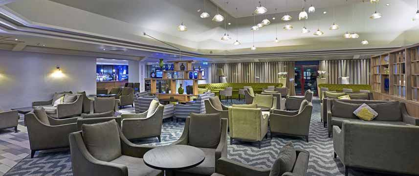 Doubletree by Hilton Hotel Bristol North Lounge Bar Seating