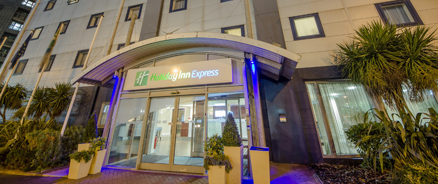 Express Docklands Entrance
