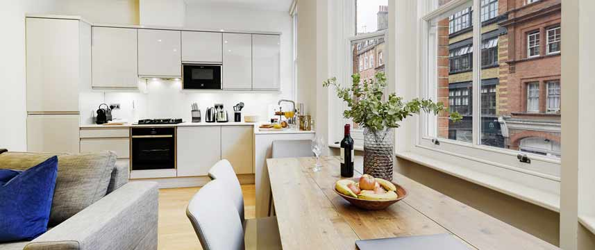 Fitzrovia by CAPITAL - Apartment 5 Kitchen