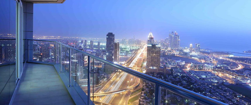 Fraser Suites  Dubai Balcony View