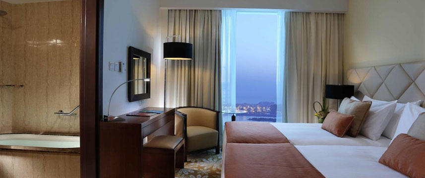 Fraser Suites  Dubai Bedroom View