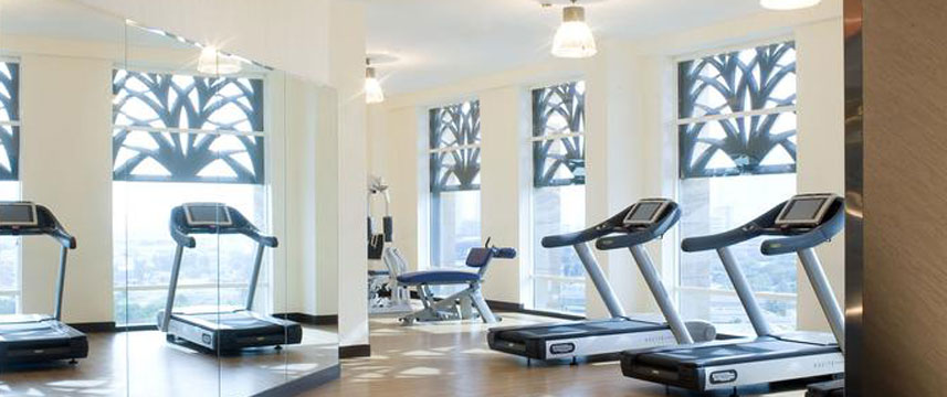 Fraser Suites  Dubai Gym