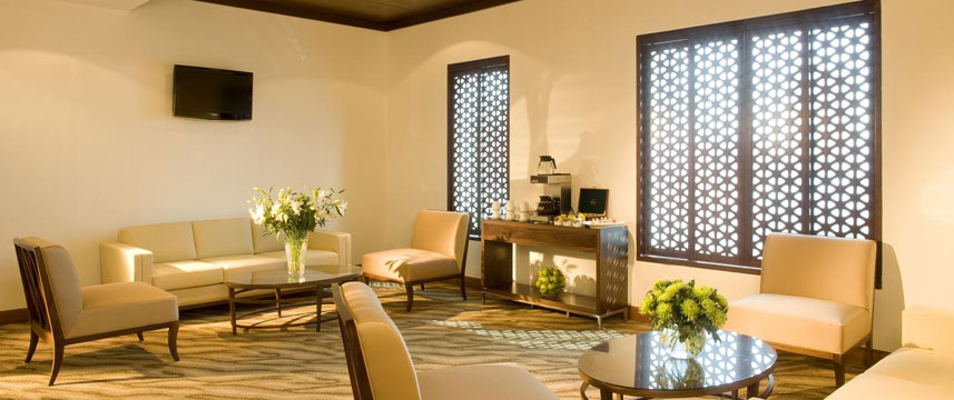 Fraser Suites  Dubai Seating Area