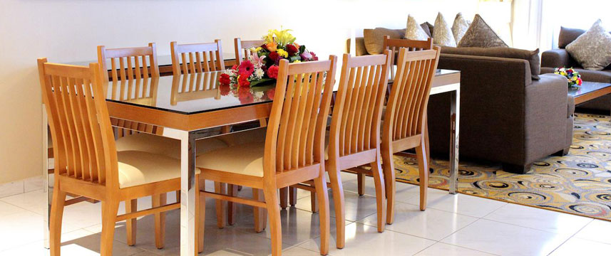 Golden Sands Hotel Apartments - Dining Area