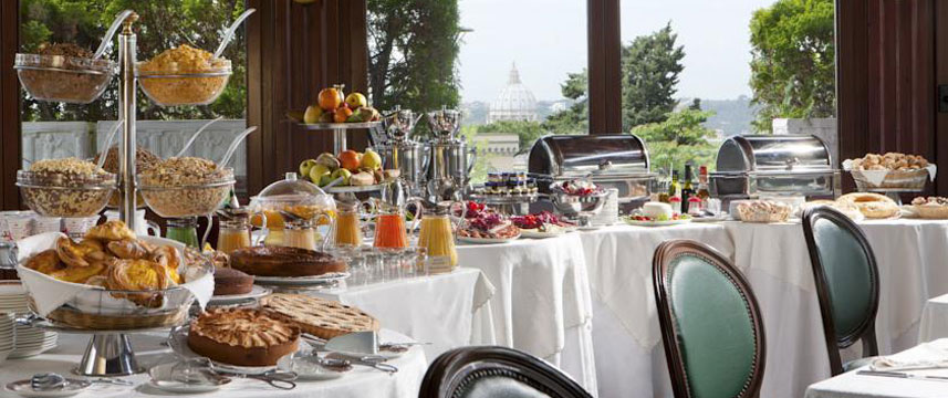 Grand Hotel del Gianicolo - Breakfast Buffet