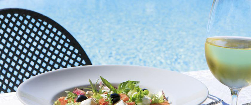 Grand Hotel del Gianicolo - Pool Side Dining