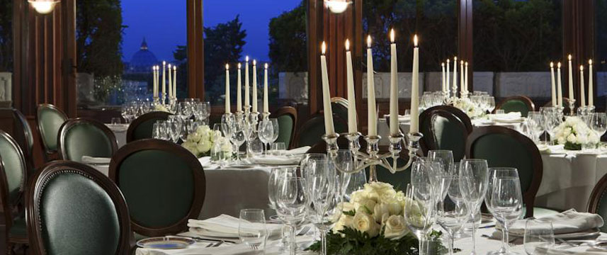 Grand Hotel del Gianicolo - Restaurant Evening