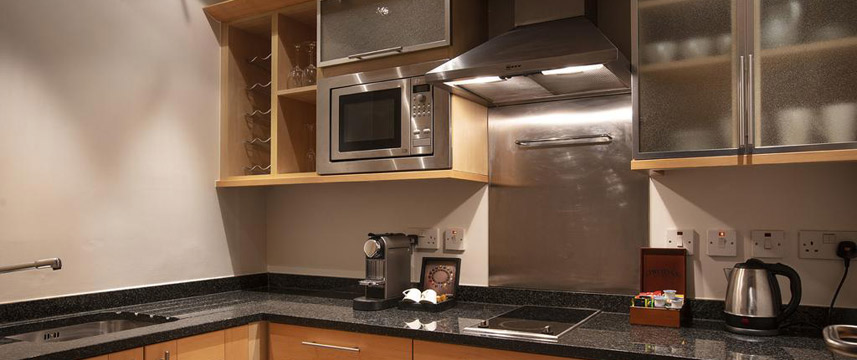 Great Cumberland Place - Apartment Kitchen