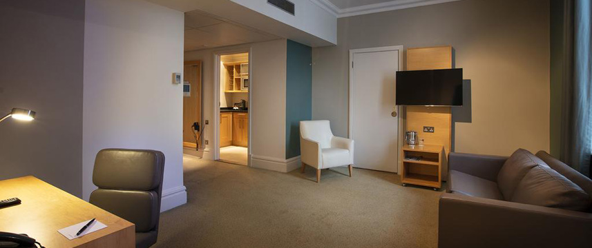 Great Cumberland Place - Apartment Lounge
