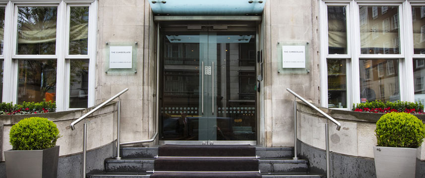 Great Cumberland Place - Entrance