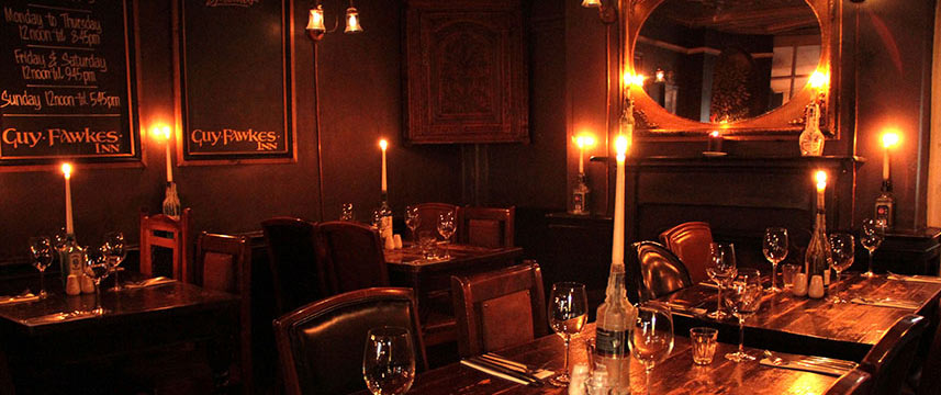 Guy Fawkes  Inn Evening Dining