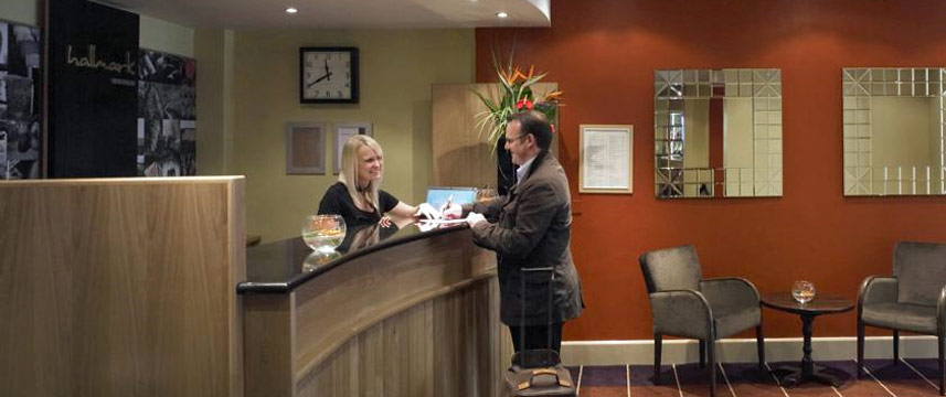 Hallmark Hotel Bournemouth West Cliff - Reception