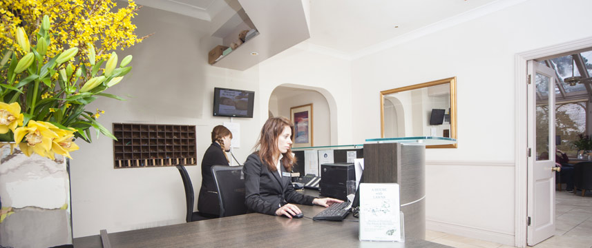Hawkwell House Hotel - Reception