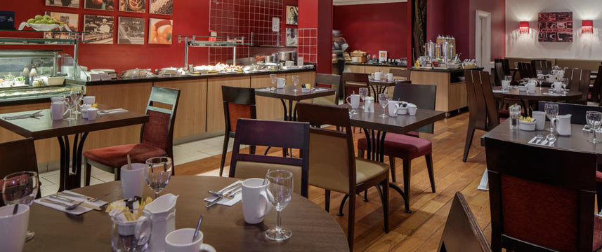Hilton York - Breakfast Tables