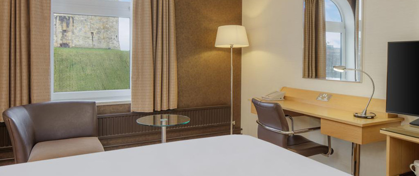 Hilton York - Deluxe Tower View Room