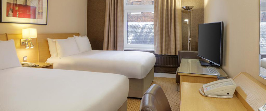 Hilton York - Two Double Guest Room