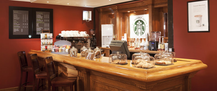 Hol Inn Glasgow Air Starbucks