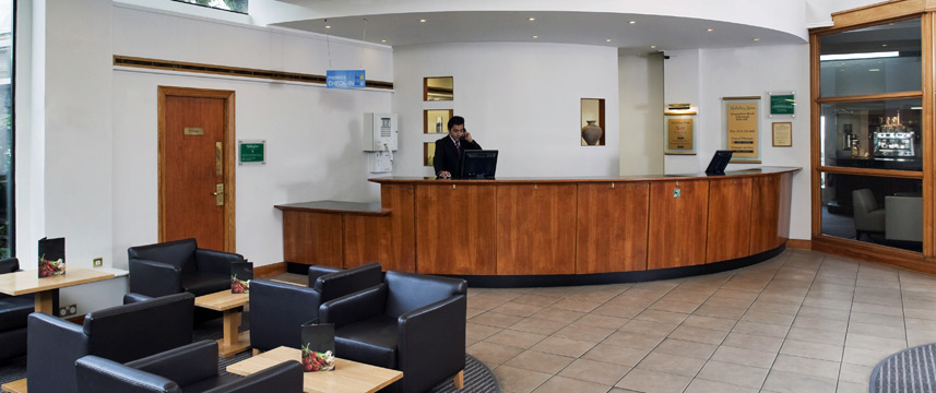 Holiday Inn Edinburgh City West Lobby