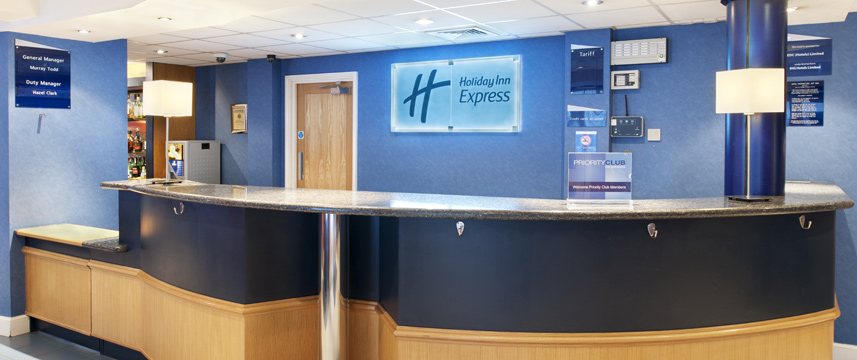 Holiday Inn Express Aberdeen City Centre - Reception