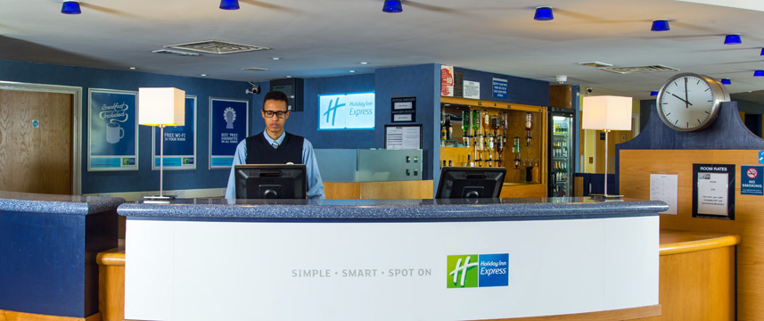 Holiday Inn Express Bradford City Centre - Reception
