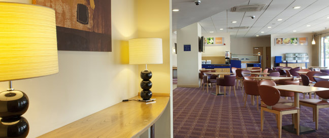Holiday Inn Express Bristol City Hotel Lounge Main