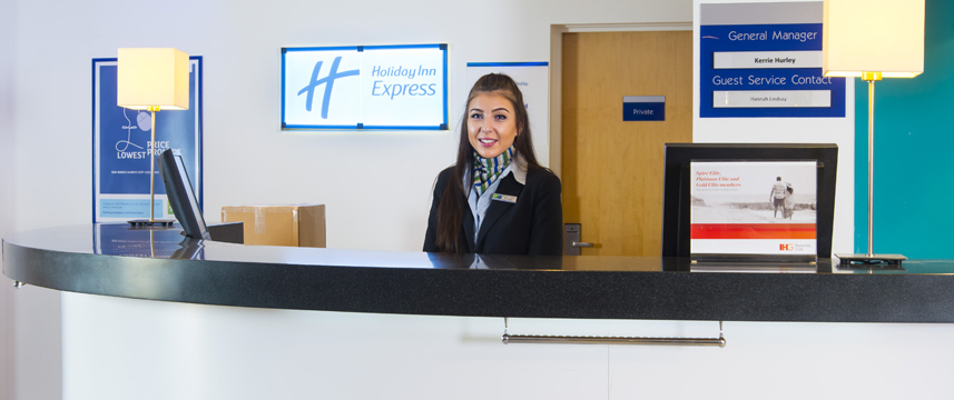 Holiday Inn Express Cambridge - Reception