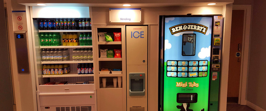Holiday Inn Express Castle Bromwich Vending Machines Main