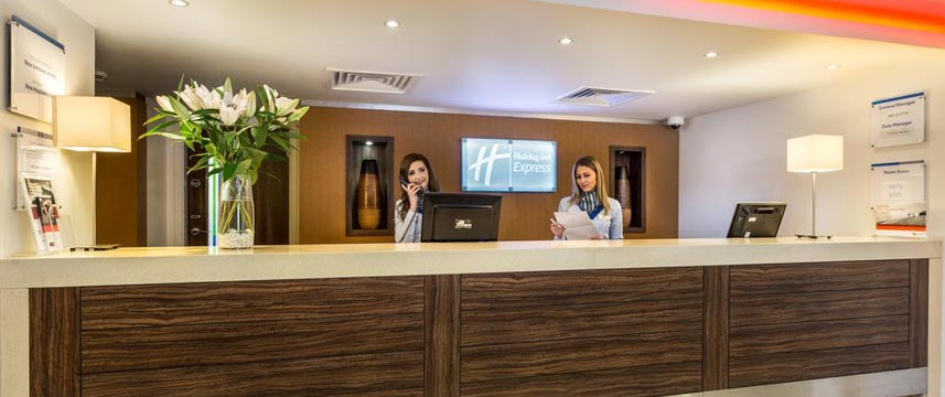Holiday Inn Express Colchester - Reception