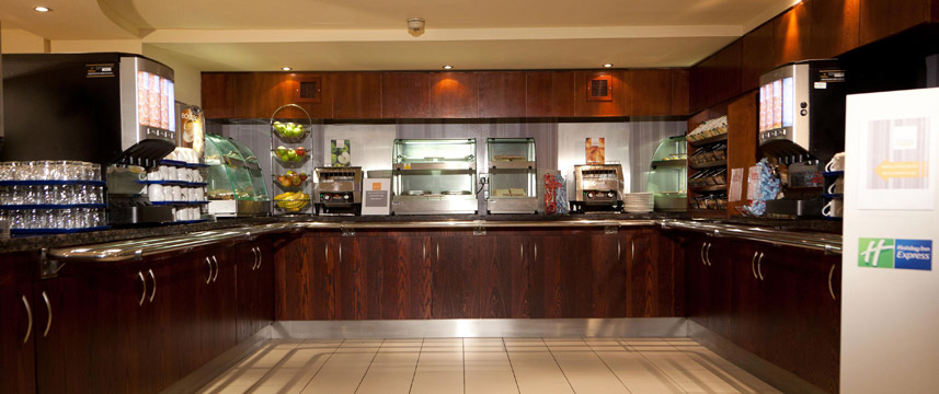 Holiday Inn Express Edinburgh Breakfast Area