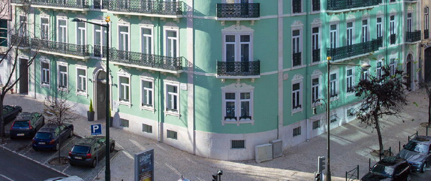 Holiday Inn Express Lisbon Av Liberdade - Location