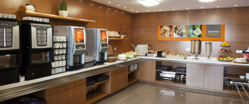 Holiday Inn Express Lisbon Breakfast