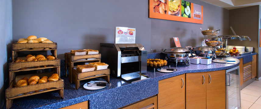 Holiday Inn Express London Chingford - Continental Breakfast