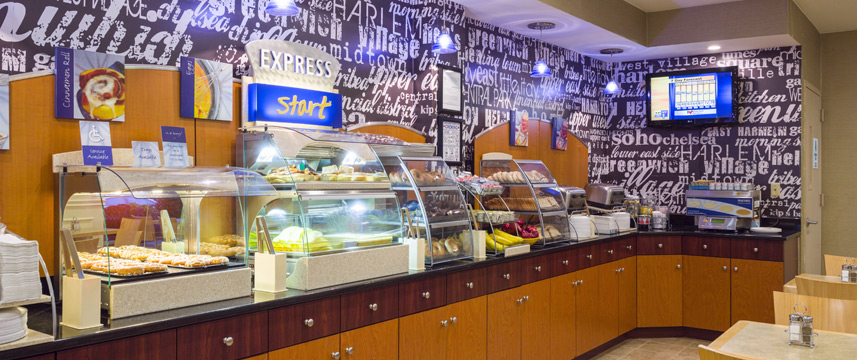 Holiday Inn Express Madison Square Gardens Breakfast Buffet