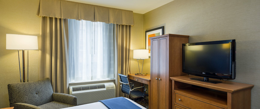 Holiday Inn Express Madison Square Gardens Room Facilities