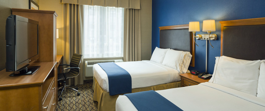 Holiday Inn Express Madison Square Gardens Twin Room