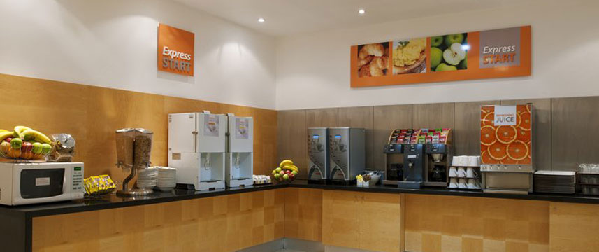 Holiday Inn Express Newcastle City Centre - Breakfast Buffet