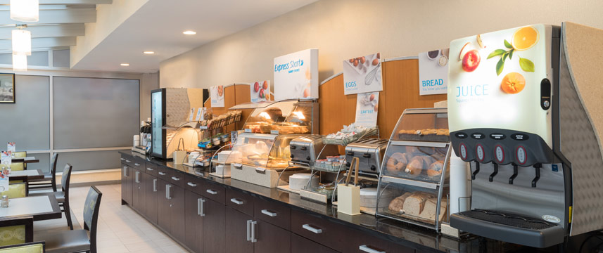 Holiday Inn Express Wall Street - Breakfast Buffet