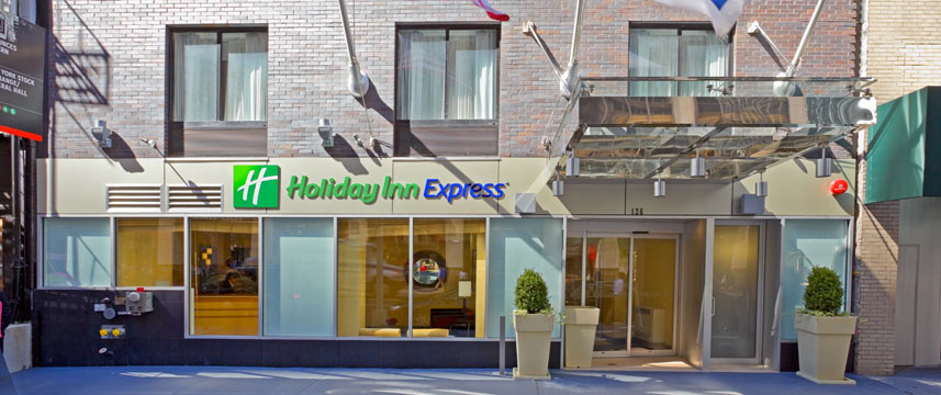 Holiday Inn Express Wall Street - Entrance