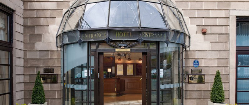 Holiday Inn Glasgow Theatreland Entrance