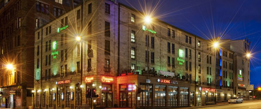 Holiday Inn Glasgow Theatreland Exterior Night