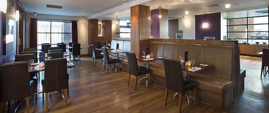 Holiday Inn Manchester - Central Park - Restaurant Area