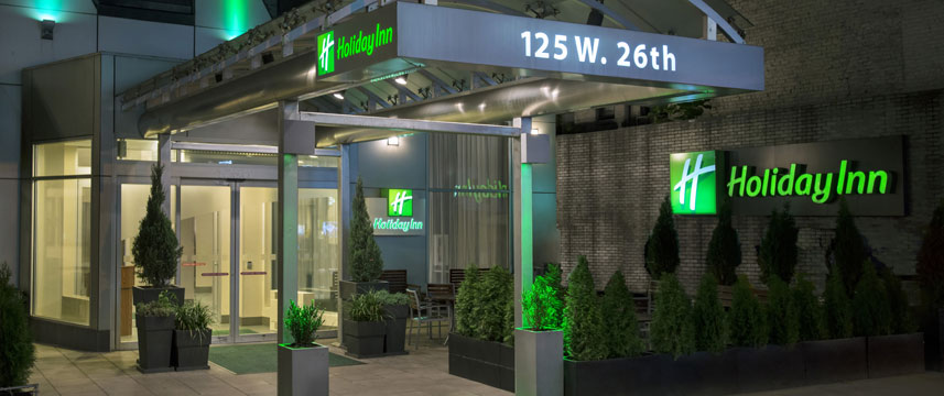 Holiday Inn Manhattan 6th Ave Entrance