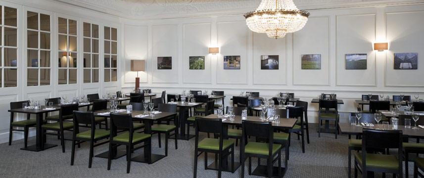 Holiday inn London Mayfair Hotel Restaurant