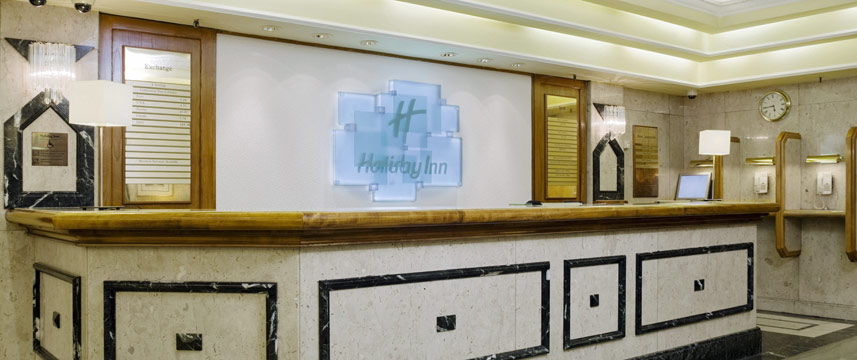 Holiday inn London Mayfair Reception