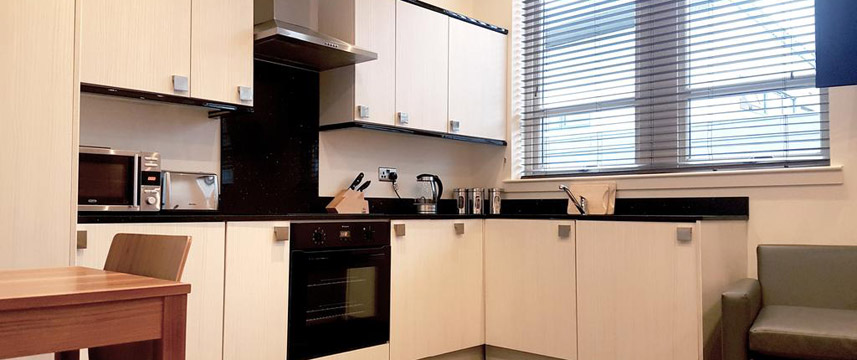 Holyrood ApartHotel - Studio Kitchen
