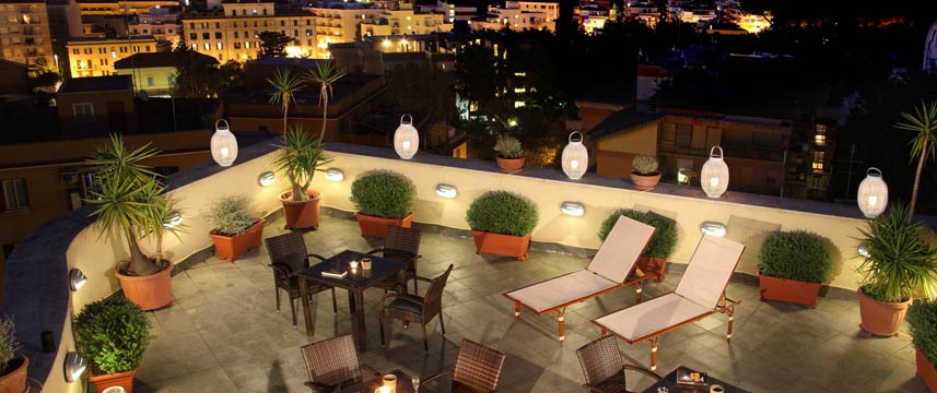 Hotel Alessandrino - Rooftop at Night