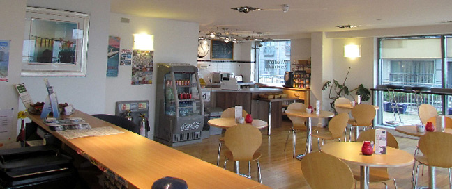 Hotel Apartments Edinburgh Waterfront Reception