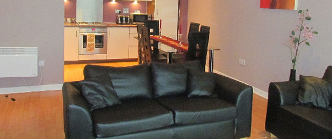 Hotel Apartments Edinburgh Waterfront Sofa