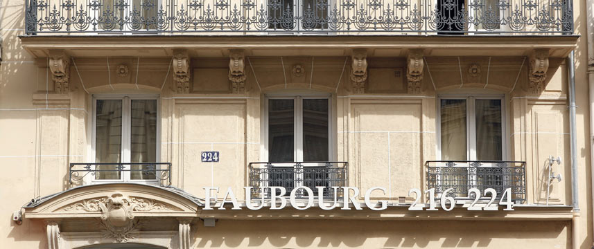 Hotel Faubourg 216-224 - Hotel Exterior LG