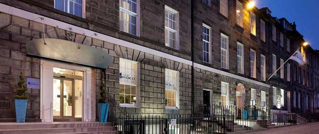 Hotel Indigo Edinburgh - Exterior Night